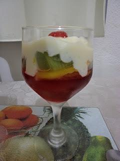 suco de kiwi com leite condensado