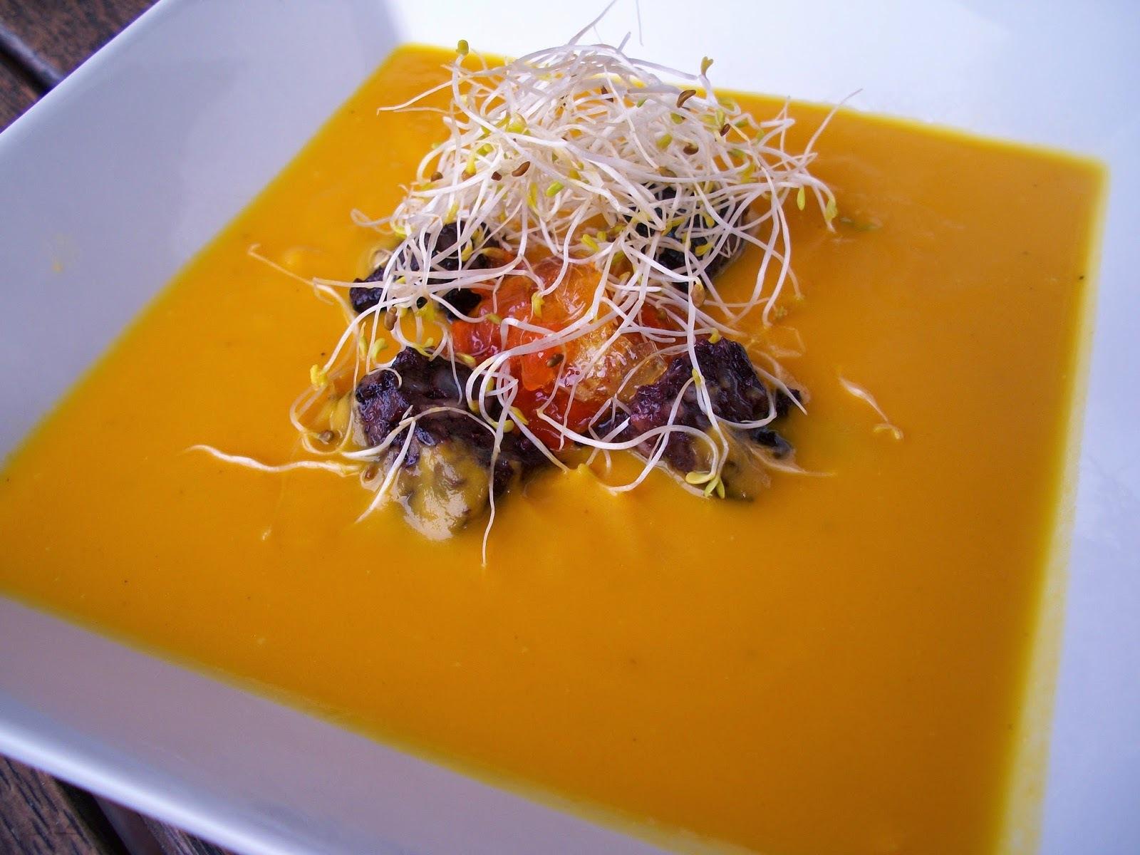 Crema de pastanaga a la taronja (Recepta de Cuines TV 3)