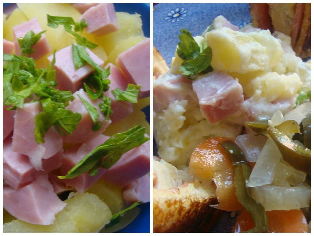 Ensalada de Patata y Jamón