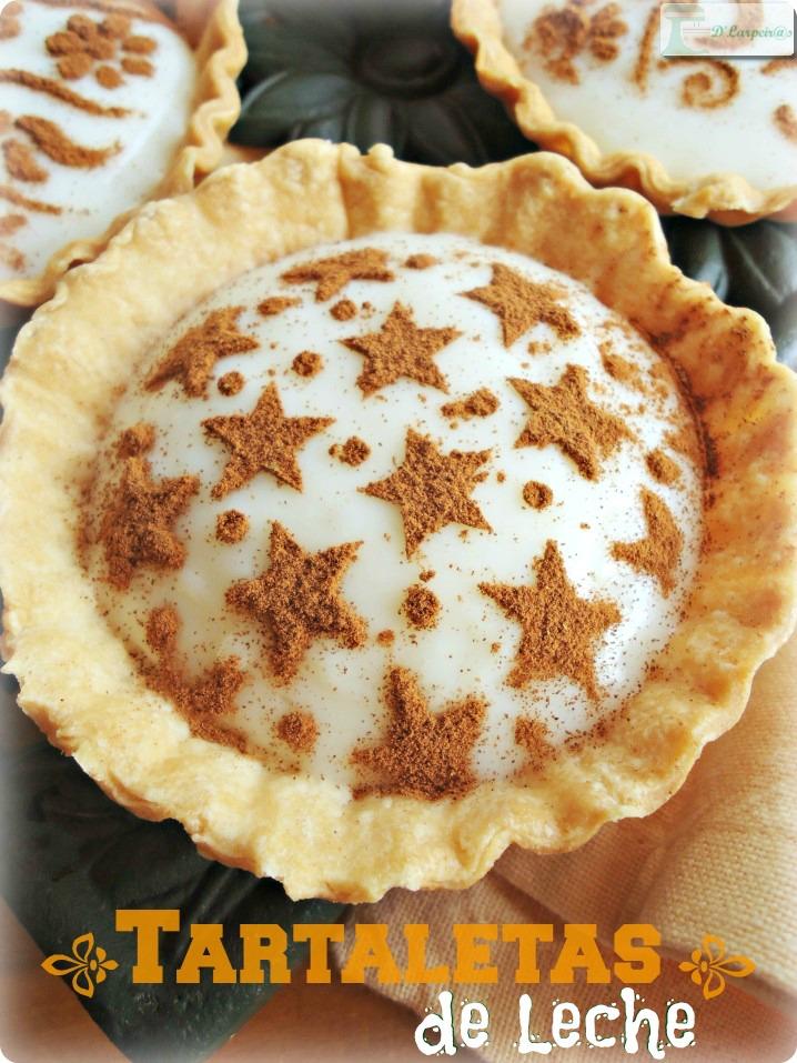 Tartaletas de Leche: Un pequeño y cremoso bocado.