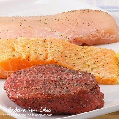 Como preparar carnes em bifes e filés na AirFryer?