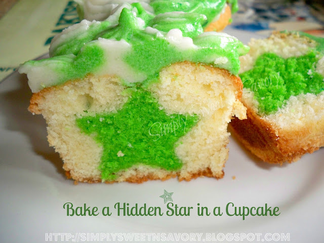 Pakistan's Independence Day : Bake a Hidden Star in a Cupcake