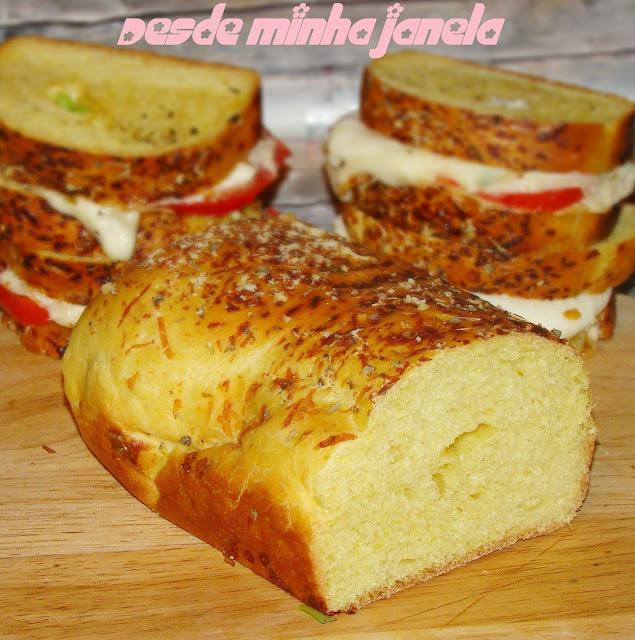 Pão fofinho de cebola da Ana Claudia