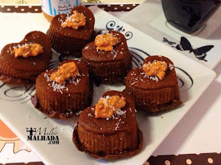 Receita de Muffin de Chocolate Lowcarb