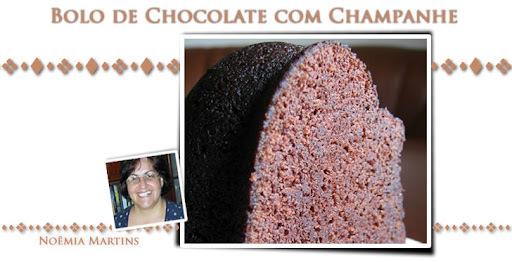 Bolo de Chocolate com Champanhe