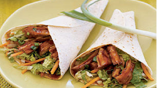Slow Cooker Pulled Pork Wraps | Slow Cooker Pork