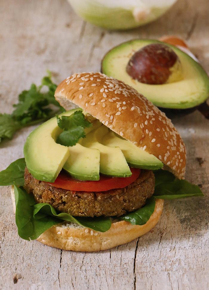 Hamburguesas Vegetarianas
