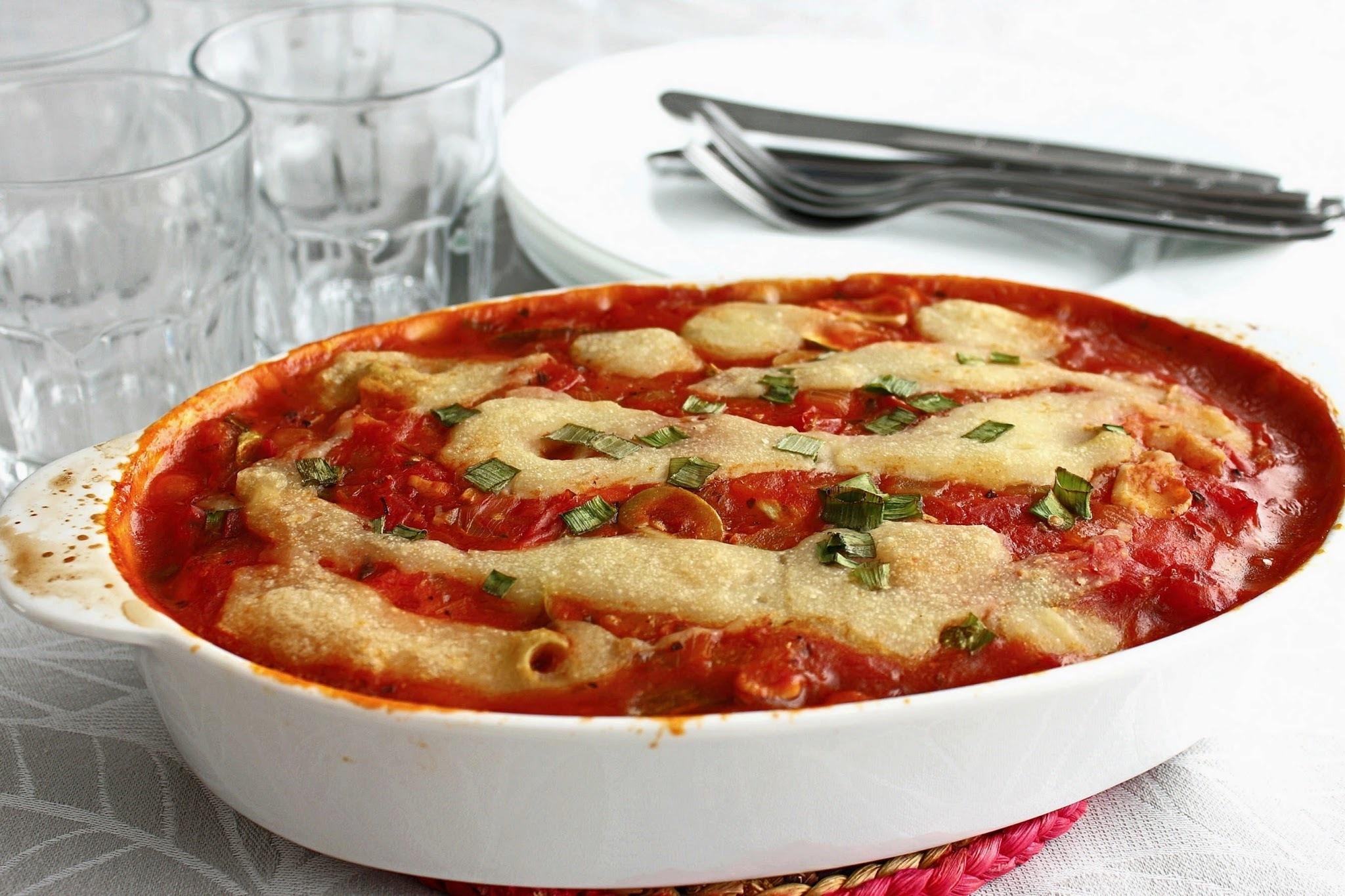 lasanha de abobrinha e cenoura com mandiokejo (vegana, gluten-free)