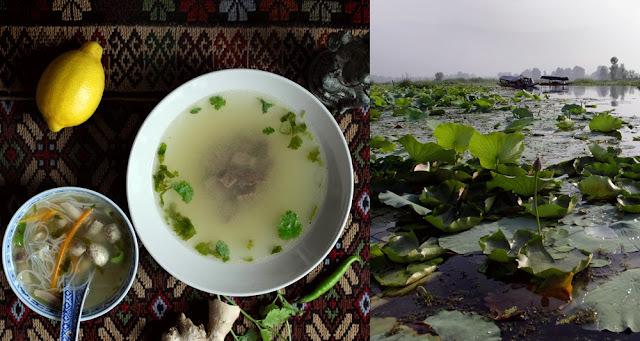 Ázia : Citrónovo - koriandrová polievka / Asia: Lemon - coriander soup