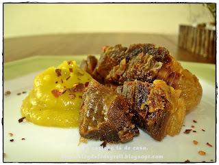 carne de sol frita na panela de pressao