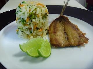 como preparar peixe frito light
