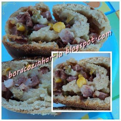 Baguete (Pão Recheado)