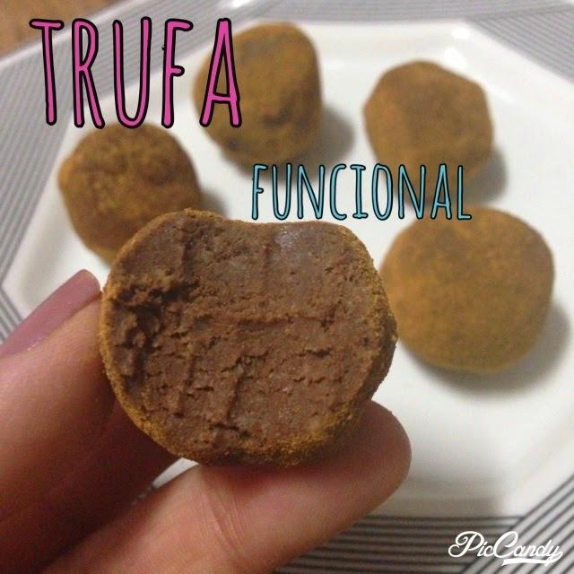 Trufa de chocolate funcional