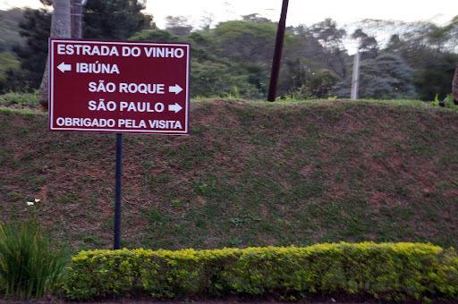 Estrada do Vinho em São Roque