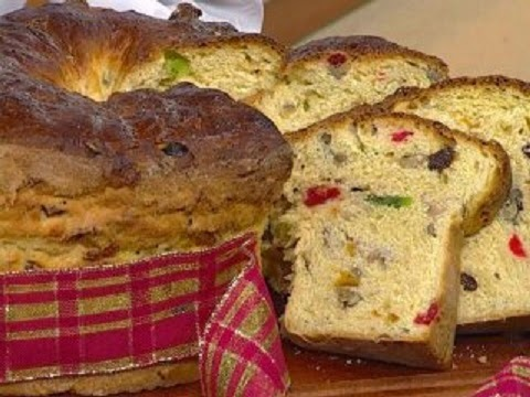 Receta de pan dulce navideño tradicional y facil