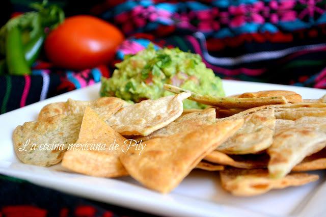 Tortillas de harina de Chipotle y Cilantro