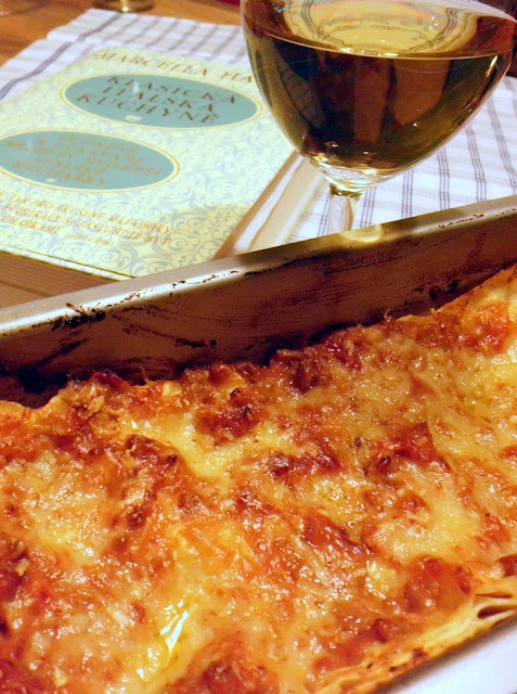 Domácí lasagne s boloňským ragú