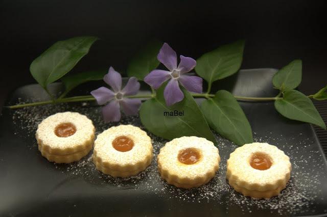 Galletas de gelatina saborizada, normal (con azúcar)