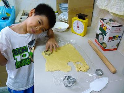 ALMOND BUTTER COOKIES  杏仁牛油饼
