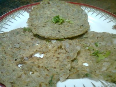 Sprouts Chapathi