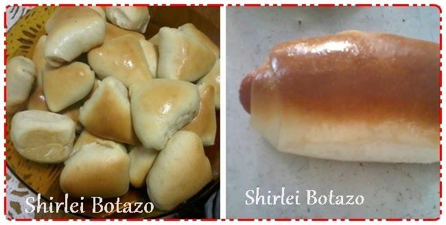 Eu testei receita do blog: Shirlei Botazo, esfihas e pão com salsicha (bisnaguinha d`água)