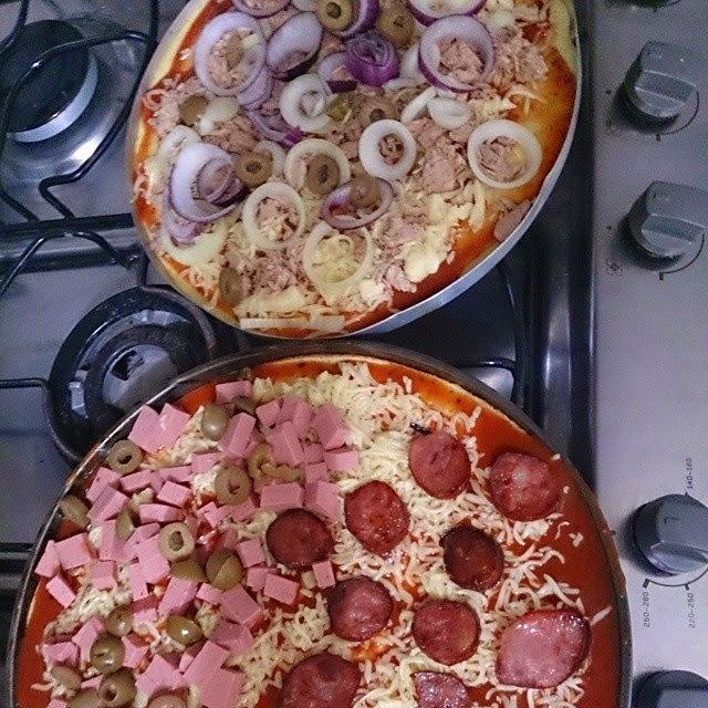 Receita Pizza Dukan