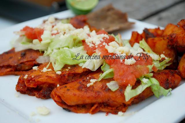 Enchiladas Michoacanas: salsas, preparación y Hacienda de Catipuato