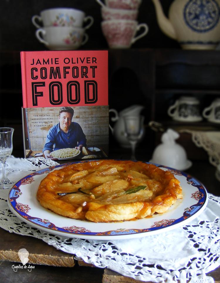 TARTA TATÍN DE PERA {Comfort Food de Jamie Oliver}