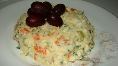 Maionese de Batatas com Pepino
