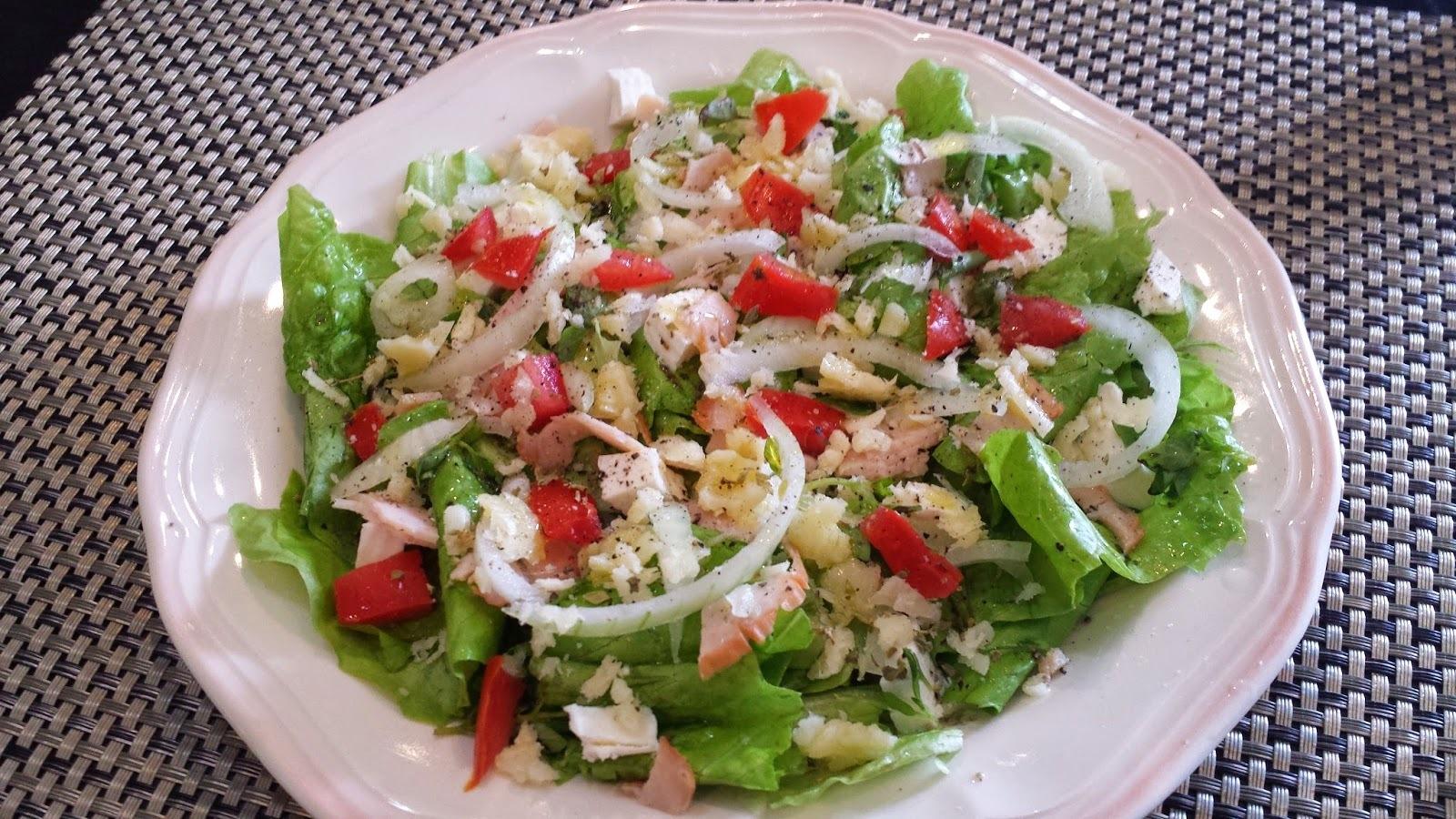 Salada Light de verão, mais que inspiradora.