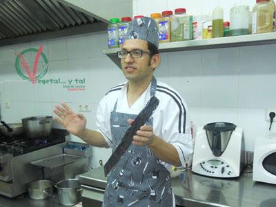 Taller de cocina con algas en el restaurante Maná