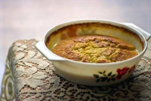 Lemon Self Saucing Pudding