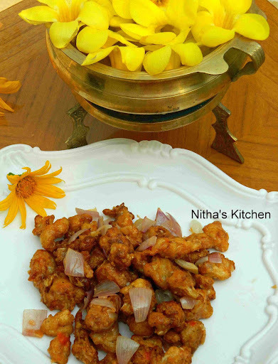Gobi Machurian Recipe | Cauliflower fry | Starter Recipe
