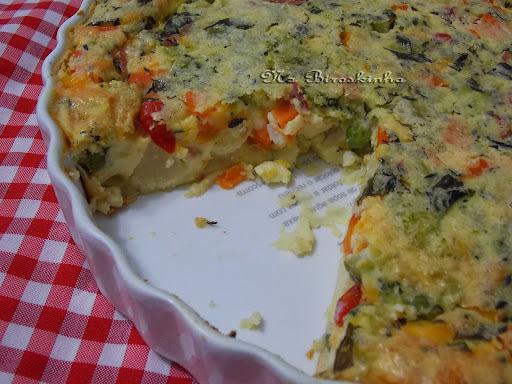 omelete simples com farinha de trigo