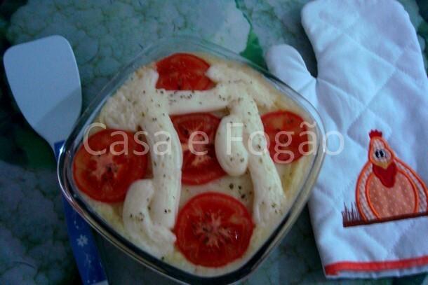 Salsicha com purê