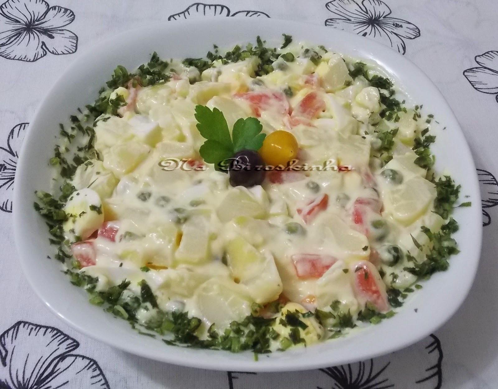 Salada de Batata à Moda