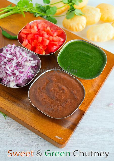 Green Chutney & Tamarind Dates Chutney / Easy Chat Chutney Recipes