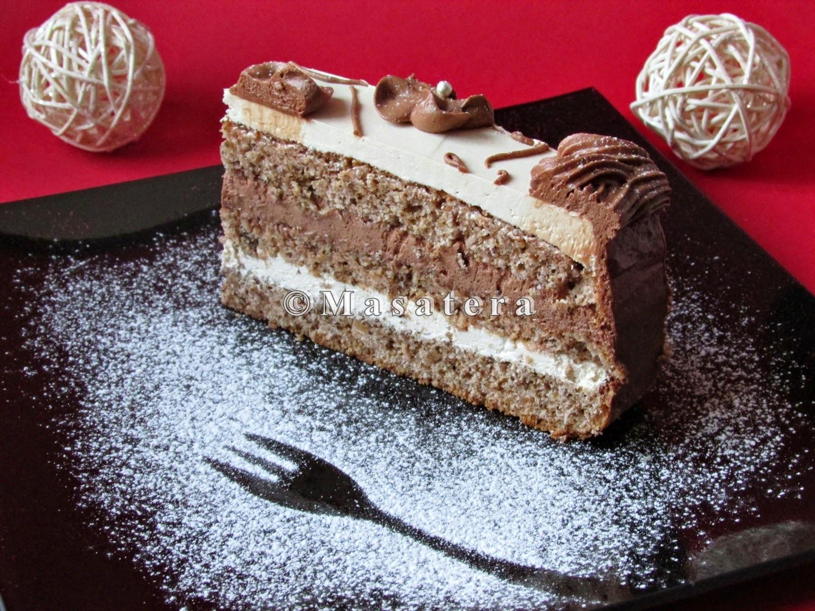 Torta od oraha i čokolade u tri verzije