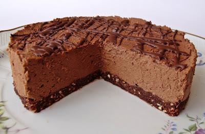Csokitorta sütés nélkül