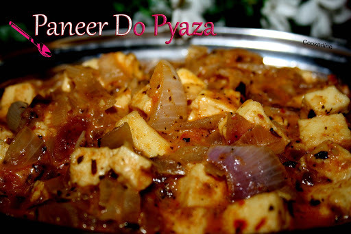 of panner do pyaza resurant style in hindi