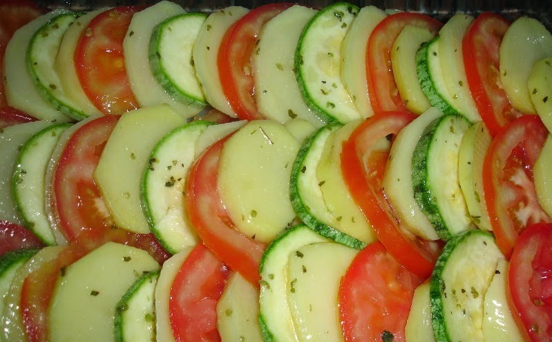 Gratinado Light de legumes