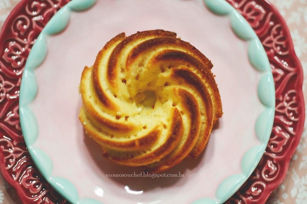 Bolo delicioso de limão da Rita Lobo