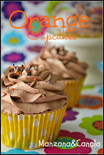 Los mejores Cupcakes de Naranja del Mundo Mundial