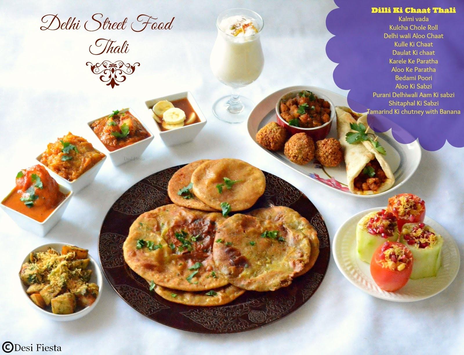 Delhi StreetFood/ Chaat Thali  |Delhi Chaats