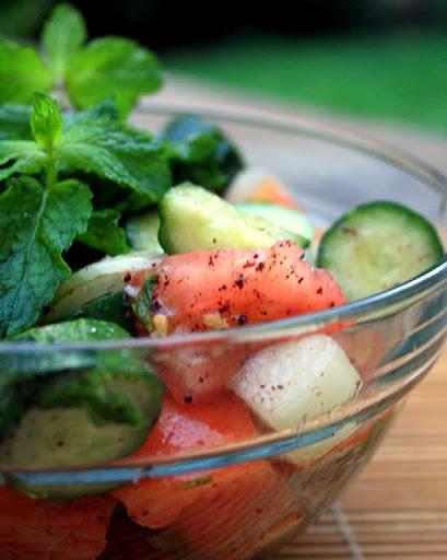 salada de quibe cru