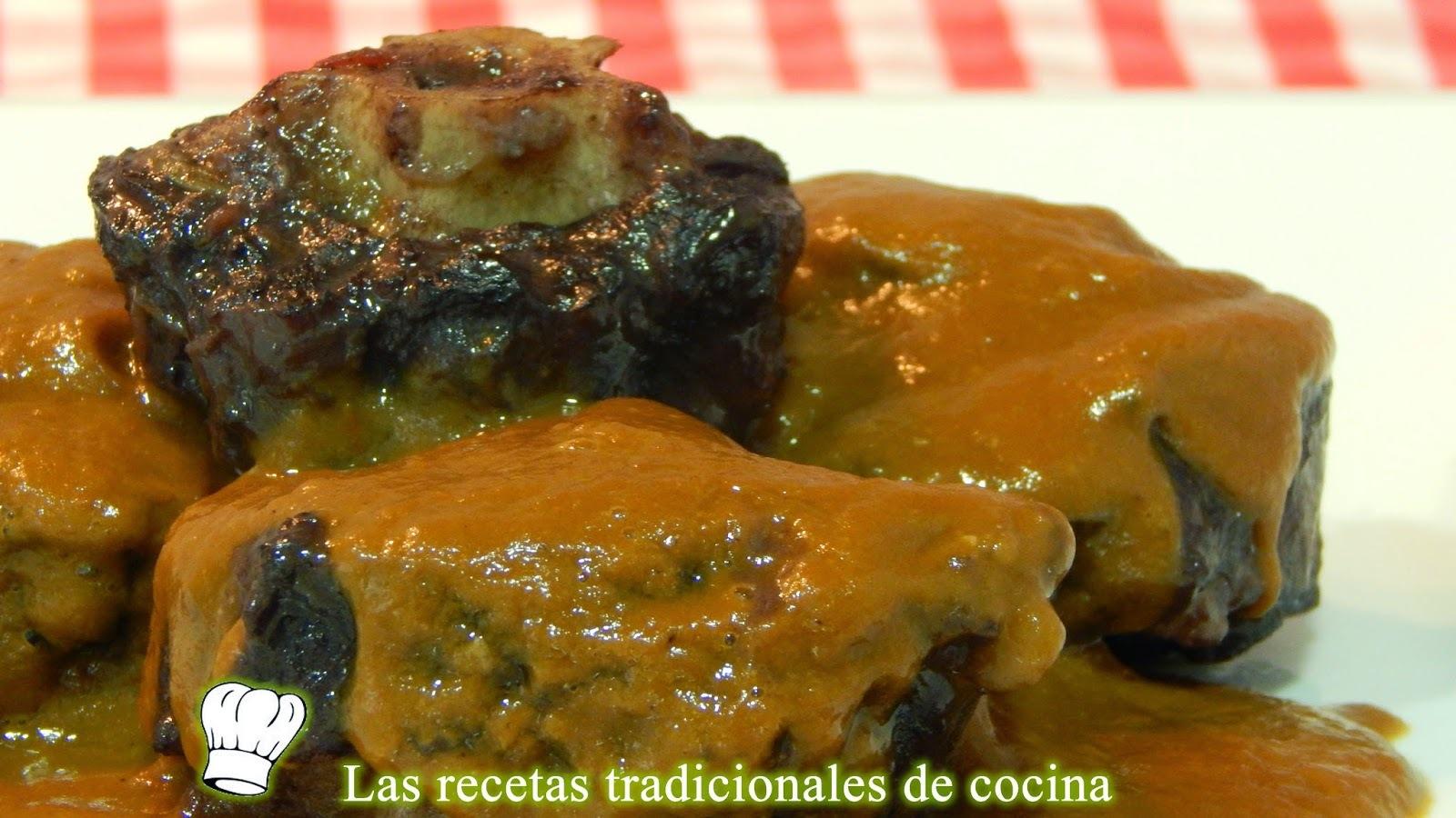 Receta de rabo de toro con salsa de vino tinto