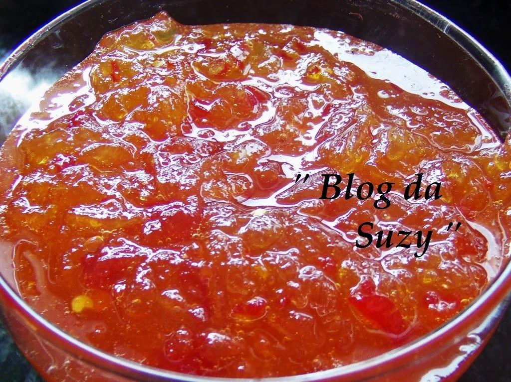 Geleia de Pimenta - Uma delícia! (fácil)