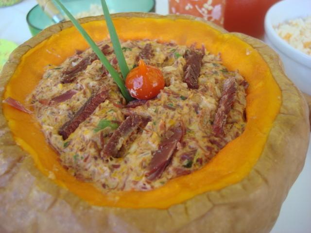 Carne de charque na Moranga