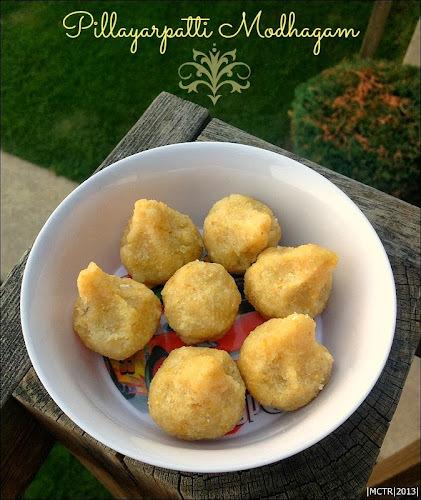 Modakam | Pillayarpatti Mothagam | Vinayagar Chathurthi Recipes