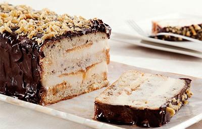 que tipo de sorvete combina para servir com bolo gelado